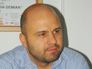 """Emanuel Ungureanu, Preşedintele  Asociaţiei pentru Solidaritate şi Empatie """"Claudia Safta"""""""