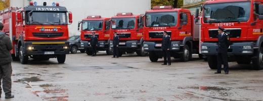 Cluj are 6 noi autospeciale de pompieri. Vezi cum arată!