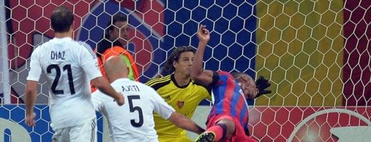 Steaua, egal de 1-1 cu FC Basel. Sursă foto: www.uefa.com