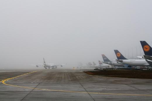 Cursa Lufthansa Munchen-Sibiu, redirecţionată la Cluj din cauza ceţii