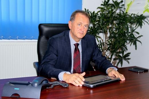 Cristian Matei,  directorul general al Companiei de Apă Arieş Turda