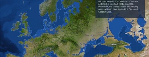 Delta Dunării ar dispărea complet dacă toată gheaţa din lume s-ar topi!