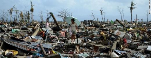 Imagini cutremurătoare după trecerea taifunului Haiyan - FOTO