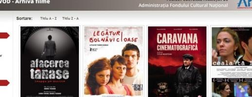 Platformă gratuită pentru vizionarea filmelor românești