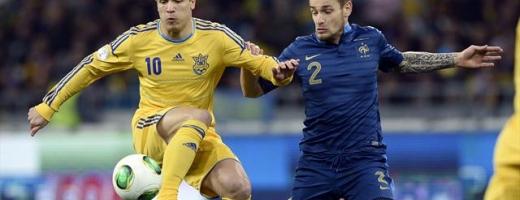 Fotbal: Baraje CM 2014 - Ucraina și Portugalia, victorioase în prima manșă