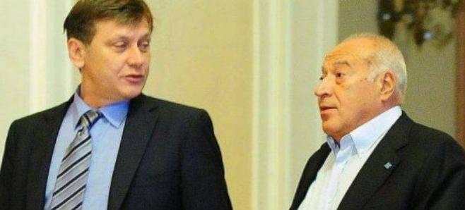 Crin Antonescu si Dan Voiculescu