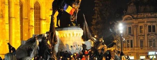 Meciul România-Grecia va fi transmis pe un ecran gigant în Piața Unirii