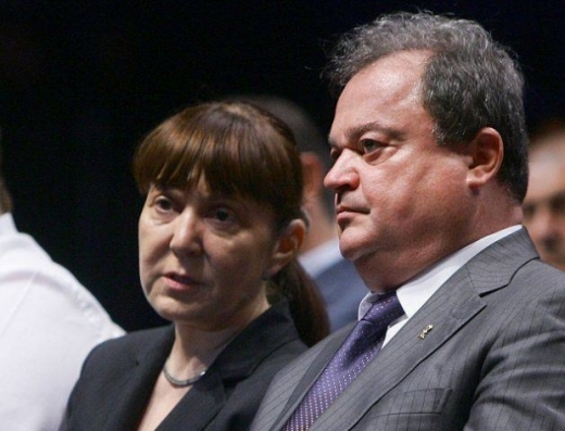 Vasile Blaga şi Monica Macovei