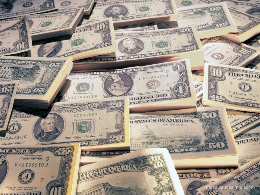 Dolarul american a pierdut 1,4 bani