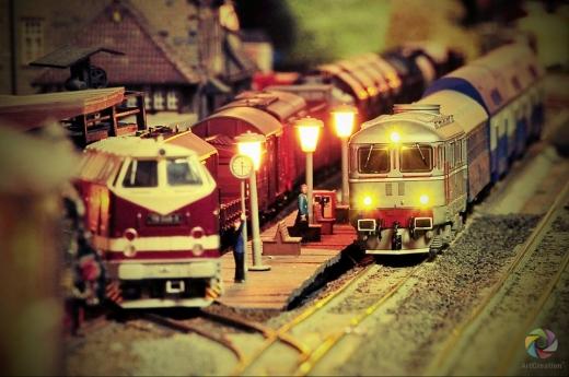Trenurile mici revin în Gara Mare