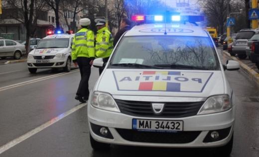 Poliţiştii clujeni au stat cu ochii pe vitezomani.