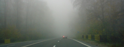 Transilvania, sub cod galben de ceaţă