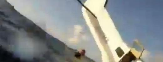Momentul PRĂBUŞIRII unui avion, înregistrat de un pasager