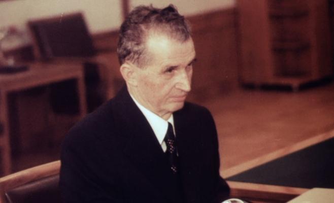 Nicolae Ceau;escu
