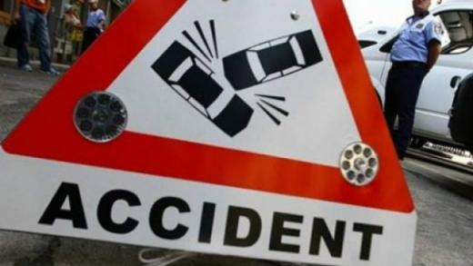 Accident rutier pe strada Tache Ionescu