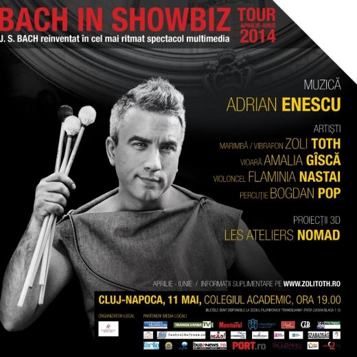 """Zoli Toth, va susține la Cluj-Napoca un spectacol în cadrul turneului """"Bach in ShowBiz"""""""
