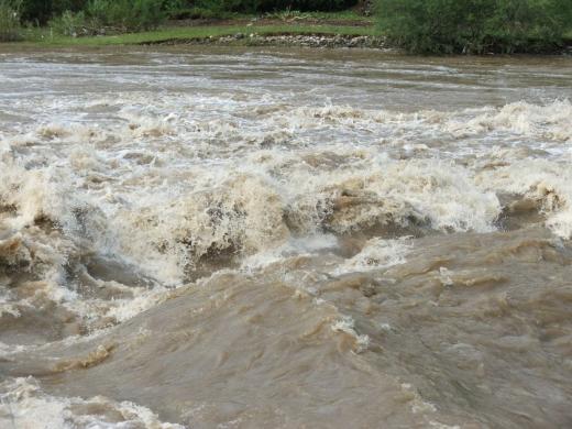 Peste 300 de gospodării din 26 de localităţi, afectate de inundațiile din Argeș