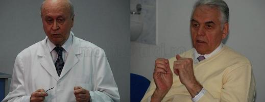 foto stânga: dr. Mircea Grigorescu, foto dreapta: dr. Pascu Oliviu
