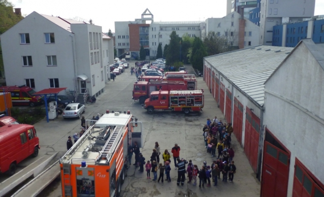 Ziua porţilor deschise la Pompierii din Cluj