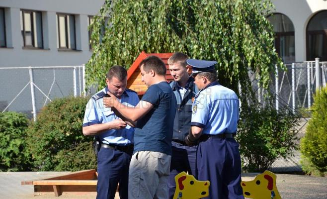 Incident la o secţie de votare din cartierul Gheorgheni