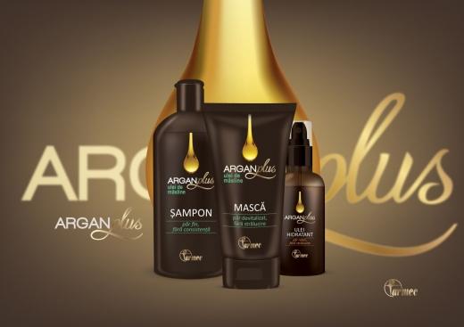 ArganPlus,  noua gamă de produse de îngrijire pentru păr de la Farmec
