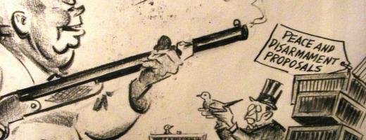 Caricaturi politice expuse la Muzeul de Istorie din Turda