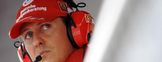 Fostul pilot de Formula 1 Michael Schumacher