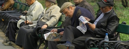 Numărul mediu de pensionari a scăzut, în primul trimestru din acest an, cu 58.000 de persoane de față de același trimestru al anului precedent.