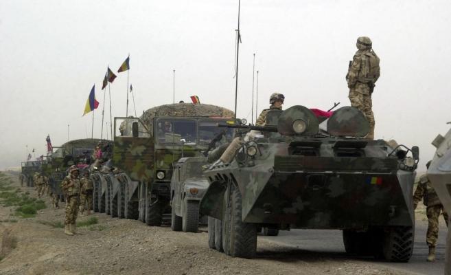 Convoi militar român în Afganistan