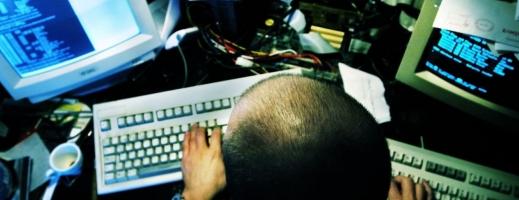 Hacker. Poză ilustrativă