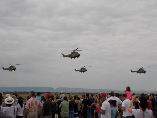 Show aviatic la Campia Turzii