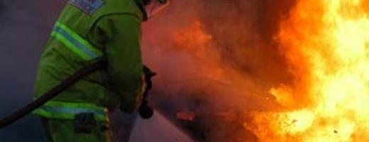 Incendiu in Chinteni