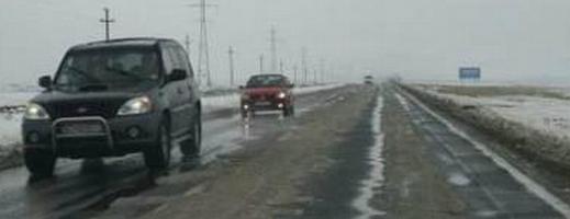 Atenție! Risc de polei de drumurile din Cluj
