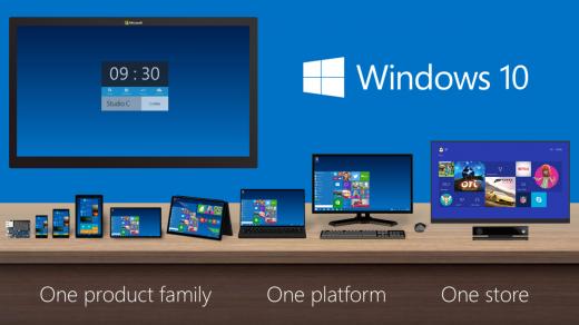 Windows 10. Sursă foto: blogs.windows.com