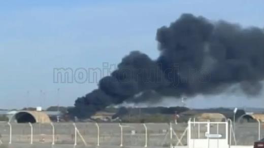 Un avion militar grec s-a prăbușit în Spania