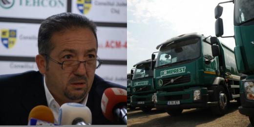 Romprest este una dintre companiile care au câştigat constant contracte publice de salubritate. Patronul său, Florian Walter, cunoscut şi pentru investiţiile pe care le-a făcut la echipele de fotbal Dinamo, Universitatea Cluj şi Petrolul Ploieşti este de negăsit.