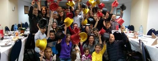 Tabără de excepție la Cluj pentru 50 de copii și tineri cu insuficiență renală cronică