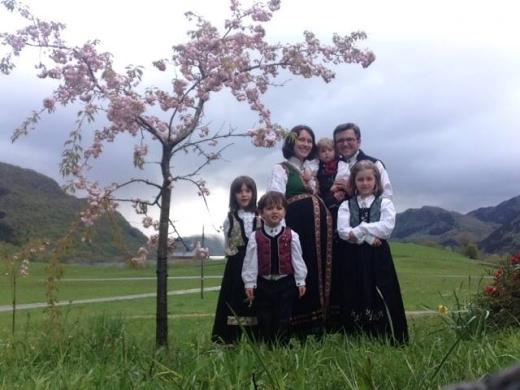 Foto familia Bodnariu