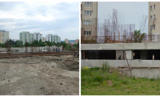 Construirea parkingului Negoiu bate pasul pe loc de trei ani