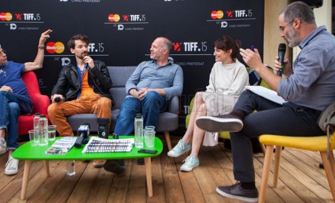 Echipa din filmul Dogs, la TIFF 2016