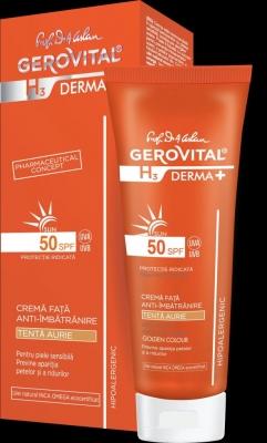 (P) Două noi produse dermatocosmetice, în gama Gerovital H3 DERMA+ SUN