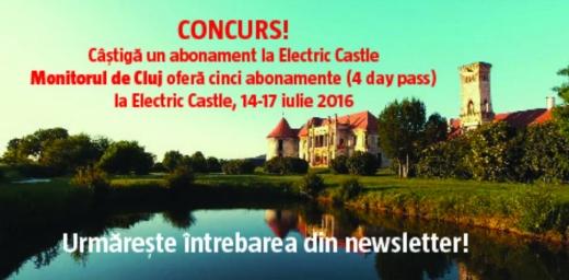Castiga un abonament la Electric Castle