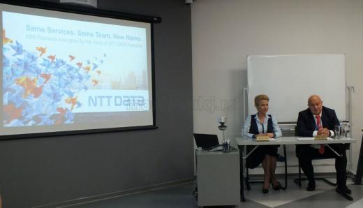EBS România a devenit oficial NTT DATA România. Echipa şi conceptul companiei rămân neschimbate