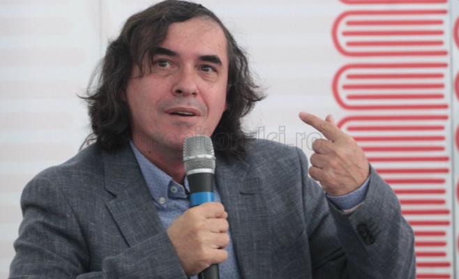 Mircea Cartarescu la Cluj. Foto Saul Pop