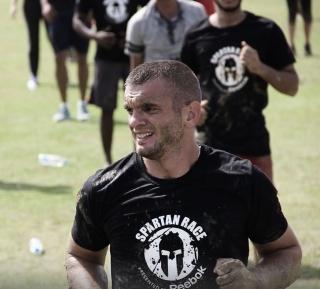 Daniel Varga în timpul antrenamentelor pentru cursă. Sursa foto: Arhivă personală Daniel Varga.