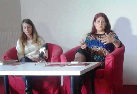 Simona Hodoş (în dreapta), fondatoarea Transilvania Jazz Festival, crede că evenimentul merită o atenţie mai mare din partea autorităţilor. FOTO O.C.