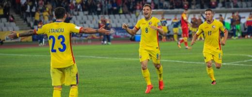România a remizat în septembrie cu Muntenegru, 1-1, pe Cluj Arena. FOTO / Arhivă Monitorul