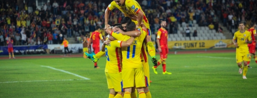 Echipa României a remizat în septembrie cu Muntenegru pe Cluj Arena. FOTO Arhivă Monitorul