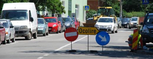 Restricţii de circulaţie în centru