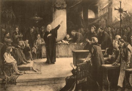 David Francisc / Ferenc, fondatorul  Bisericii Unitariene din Transilvania a avut un rol esenţial în adoptarea Edictului de la Turda. FOTO unitarius.ro